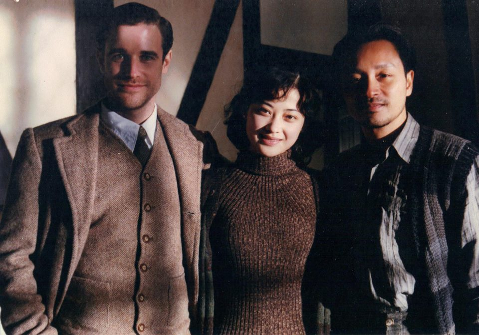 Me, Mei-Ting and Leslie shooting the map-room scene